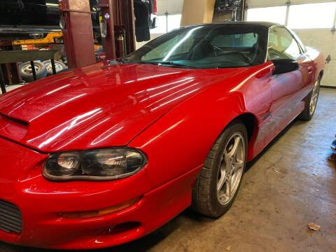 2002 Chevrolet Camaro for sale at Action Automotive Service LLC in Hudson NY