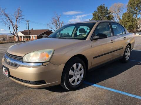 2004 Chevrolet Malibu for sale at DRIVE N BUY AUTO SALES in Ogden UT