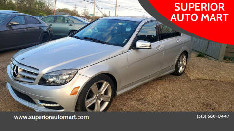 2011 Mercedes-Benz C-Class for sale at SUPERIOR AUTO MART in Amelia OH