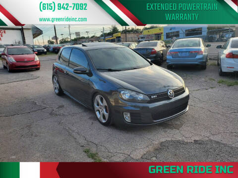 2011 Volkswagen GTI for sale at Green Ride Inc in Nashville TN