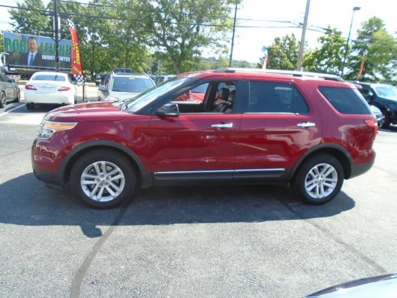 2015 Ford Explorer for sale at Gemini Auto Sales in Providence RI
