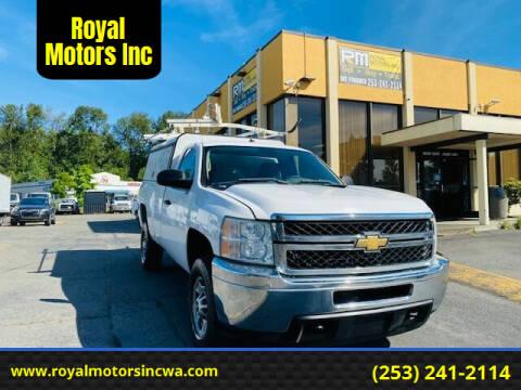 2011 Chevrolet Silverado 2500HD for sale at Royal Motors Inc in Kent WA
