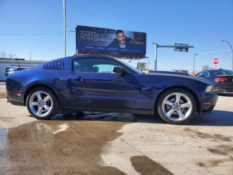 2010 Ford Mustang for sale at GOOD NEWS AUTO SALES in Fargo ND
