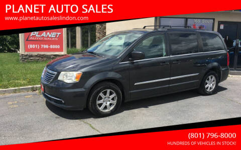 2011 Chrysler Town and Country for sale at PLANET AUTO SALES in Lindon UT