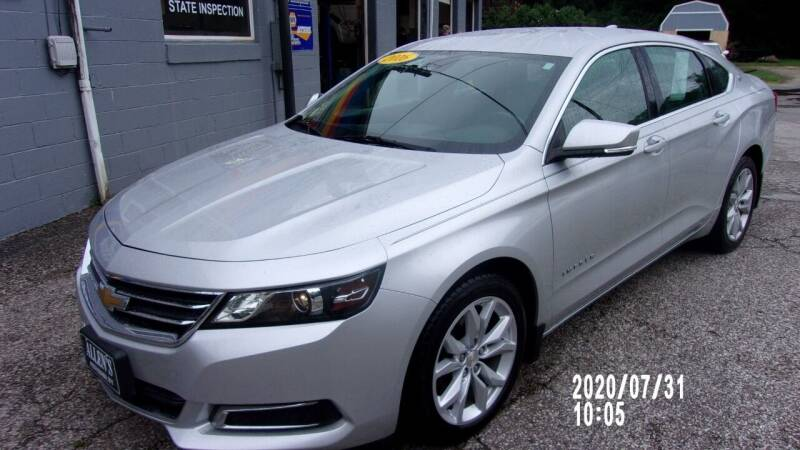 2016 Chevrolet Impala for sale at Allen's Pre-Owned Autos in Pennsboro WV
