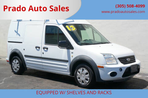 2013 Ford Transit Connect for sale at Prado Auto Sales in Miami FL