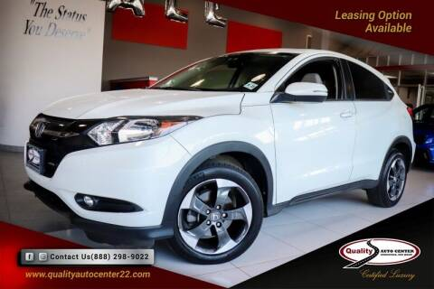 2018 Honda HR-V for sale at Quality Auto Center of Springfield in Springfield NJ