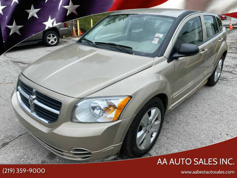 2009 Dodge Caliber for sale at AA Auto Sales Inc. in Gary IN