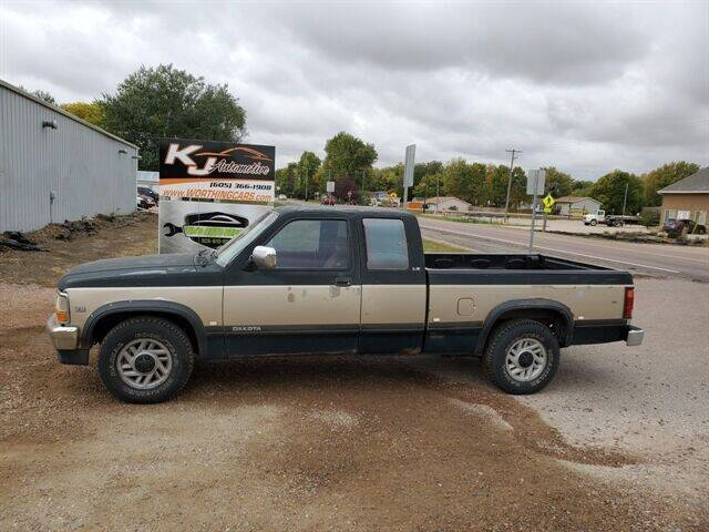 1993 Dodge Dakota for sale at KJ Automotive in Worthing SD