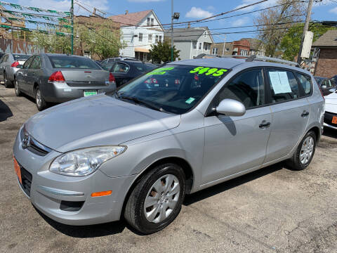 2010 Hyundai Elantra Touring for sale at Barnes Auto Group in Chicago IL