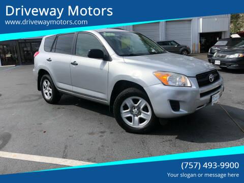 2012 Toyota RAV4 for sale at Driveway Motors in Virginia Beach VA