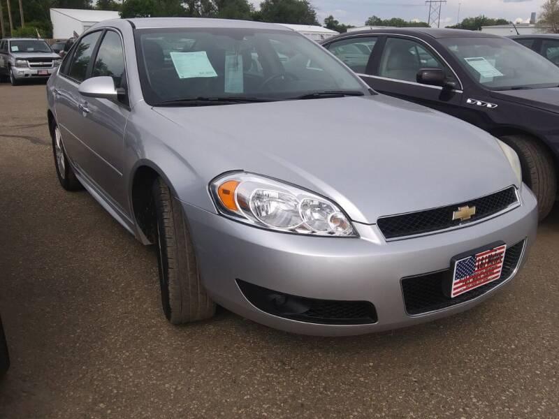 2013 Chevrolet Impala for sale at L & J Motors in Mandan ND