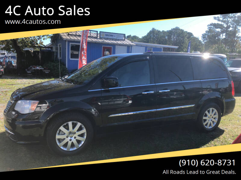 2015 Chrysler Town and Country for sale at 4C Auto Sales in Wilmington NC