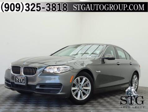 2014 BMW 5 Series for sale at STG Auto Group in Montclair CA