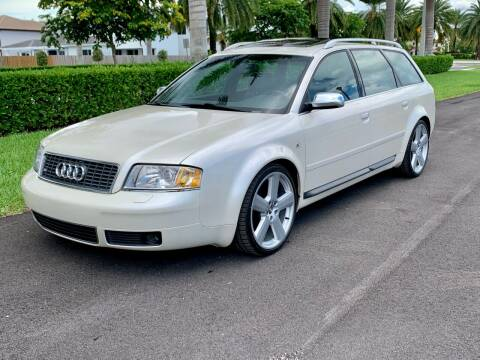 2002 Audi S6 for sale at Vintage Point Corp in Miami FL