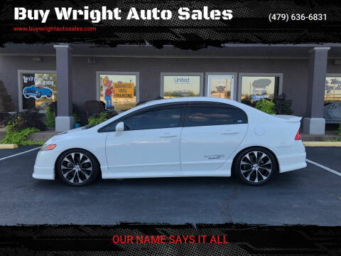 2008 Honda Civic for sale at Buy Wright Auto Sales in Rogers AR