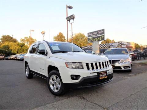 2014 Jeep Compass for sale at Save Auto Sales in Sacramento CA