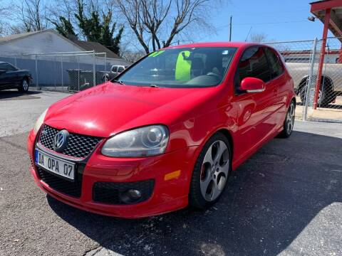 2007 Volkswagen GTI for sale at D. C.  Autos in Huntsville AL