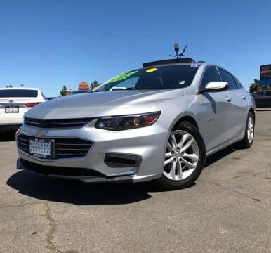 2018 Chevrolet Malibu for sale at LUGO AUTO GROUP in Sacramento CA