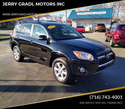 2010 Toyota RAV4 for sale at JERRY GRADL MOTORS INC in North Tonawanda NY