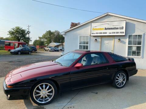 1986 Toyota Supra for sale at COLUMBUS AUTOMOTIVE in Reynoldsburg OH
