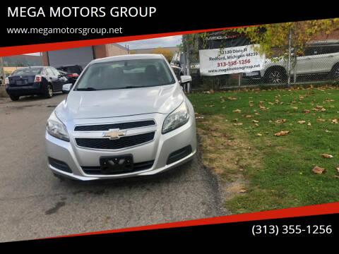 2013 Chevrolet Malibu for sale at MEGA MOTORS GROUP in Redford MI
