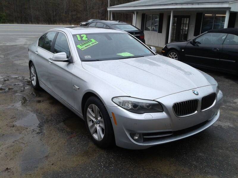 2012 BMW 5 Series for sale at Quest Auto Outlet in Chichester NH