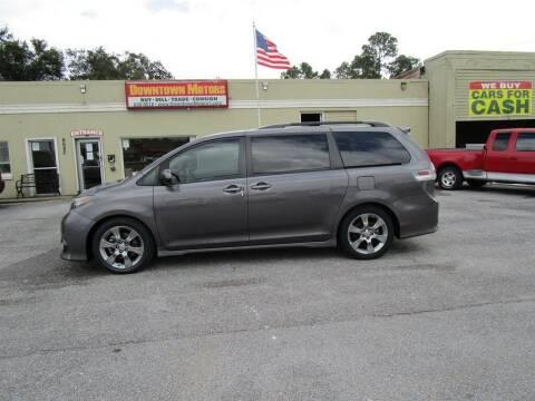 2012 Toyota Sienna for sale at DERIK HARE in Milton FL