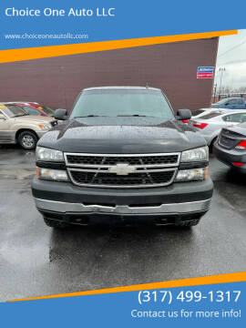2007 Chevrolet Silverado 2500HD Classic for sale at Choice One Auto LLC in Beech Grove IN