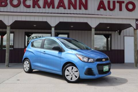 2018 Chevrolet Spark for sale at Bockmann Auto Sales in St. Paul NE