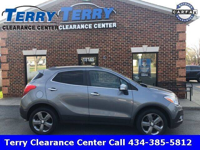 2014 Buick Encore for sale at Terry Clearance Center in Lynchburg VA
