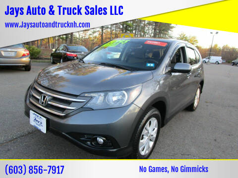 2014 Honda CR-V for sale at Jays Auto & Truck Sales LLC in Loudon NH