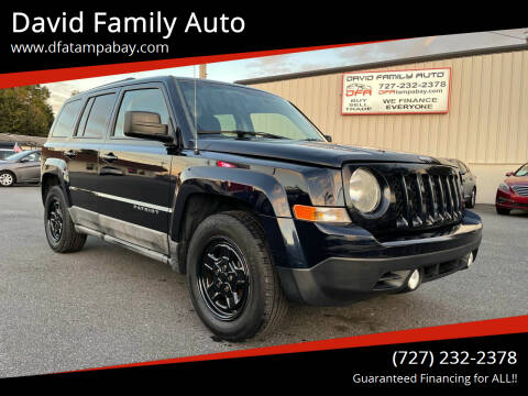 2011 Jeep Patriot for sale at David Family Auto in New Port Richey FL