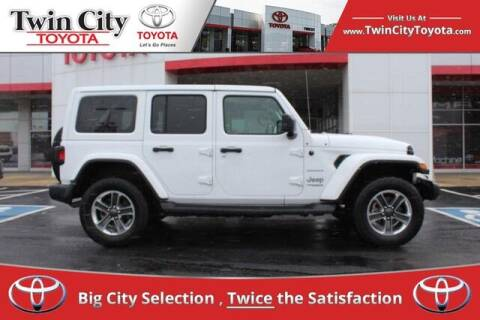 2018 Jeep Wrangler Unlimited for sale at Twin City Toyota in Herculaneum MO