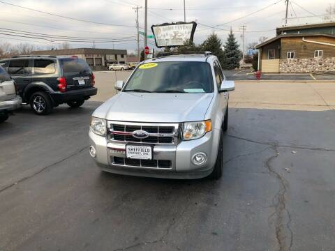 2009 Ford Escape for sale at SHEFFIELD MOTORS INC in Kenosha WI
