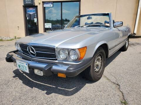 1979 Mercedes-Benz 450 SL for sale at Auto Wholesalers Of Hooksett in Hooksett NH