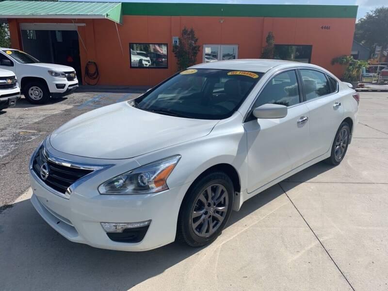 2015 Nissan Altima for sale at Galaxy Auto Service, Inc. in Orlando FL