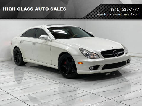 2008 Mercedes-Benz CLS for sale at HIGH CLASS AUTO SALES in Rancho Cordova CA