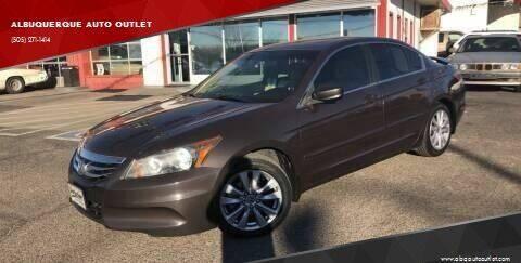 2011 Honda Accord for sale at ALBUQUERQUE AUTO OUTLET in Albuquerque NM