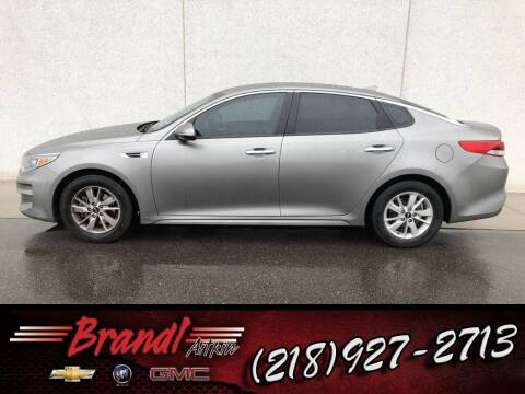 2016 Kia Optima for sale at Brandl GM in Aitkin MN