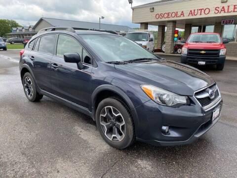 2015 Subaru XV Crosstrek for sale at Osceola Auto Sales and Service in Osceola WI
