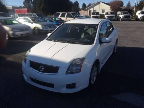 2009 Nissan Sentra for sale at Lehigh Valley Truck n Auto LLC. in Schnecksville PA