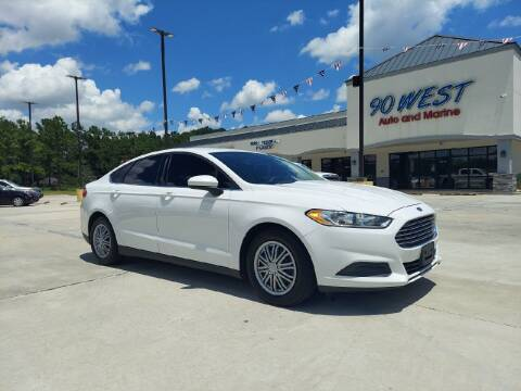 2013 Ford Fusion for sale at 90 West Auto & Marine Inc in Mobile AL