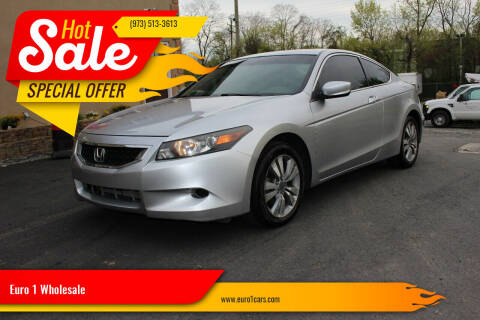 2010 Honda Accord for sale at Euro 1 Wholesale in Fords NJ