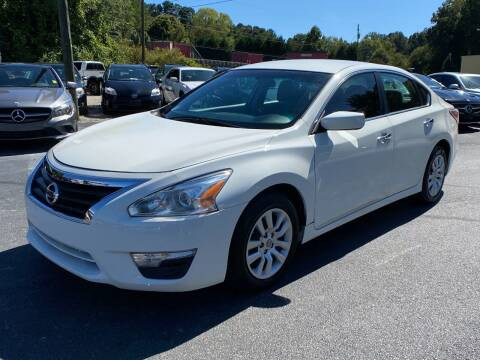 2015 Nissan Altima for sale at Luxury Auto Innovations in Flowery Branch GA