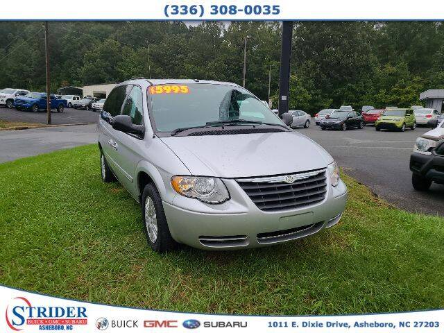 2007 Chrysler Town and Country for sale at STRIDER BUICK GMC SUBARU in Asheboro NC