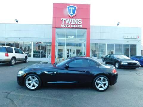 2009 BMW Z4 for sale at Twins Auto Sales Inc Redford 1 in Redford MI