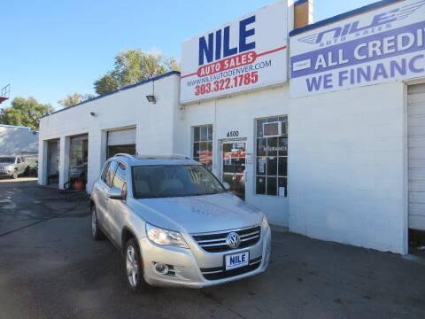 2010 Volkswagen Tiguan for sale at Nile Auto Sales in Denver CO