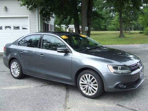 2014 Volkswagen Jetta for sale at DUVAL AUTO SALES in Turner ME