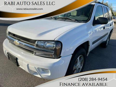 2005 Chevrolet TrailBlazer for sale at RABI AUTO SALES LLC in Garden City ID